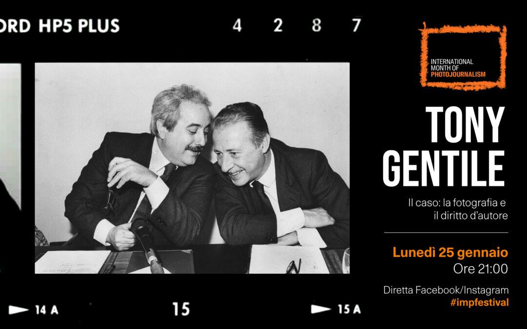 Tony Gentile: fotografia e diritto d'autore – Live streaming